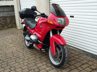 BMW R1100RS with very low mileage