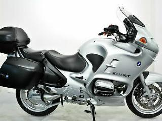 BMW R1150RT 2002, 02, Silver, 3 Box's, Audio, Heated Grips, Many Extras