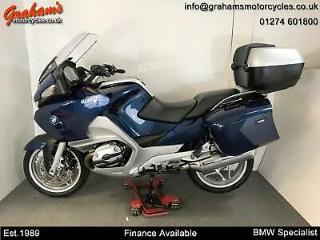 BMW R1200RT SE With Full Luggage