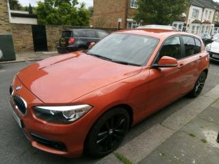 BMW series 1 euro 6 diesel 2.0 1 year road tax£20 Model 118D Sport