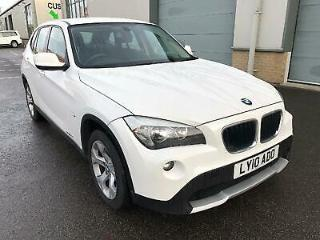BMW X1 2.0 143 BHP SDRIVE 18D SE DAB DIGITAL RADIO 2010 Diesel Manual in White