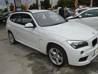 BMW X1 2.0TD 141bhp Auto 2014MY sDrive18d M Sport ONE OWNER LEATHER INT