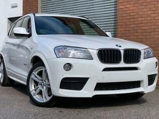 BMW X3 2.0 20d X Drive M Sport Steptronic, Stunning Example, Immaculate