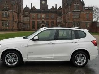 Bmw x3 m sport automatic white 2013 reg