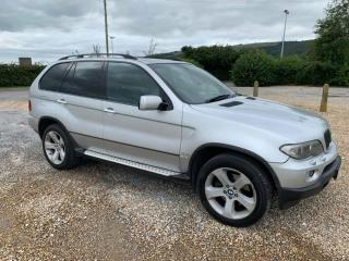 bmw x5 3.0 automatic diesel sport 2005/private plate with 126k/ april 2020 mot