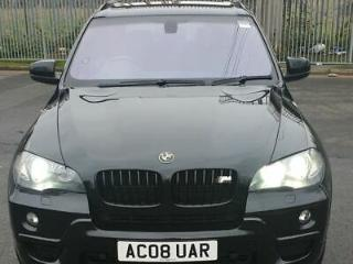 BMW X5 3.0sd M Sport Twin 2008 7 Seater Black