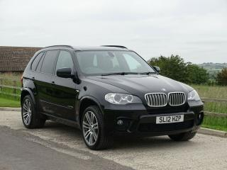 BMW X5 40d M Sport Black Pan Roof Full Service History