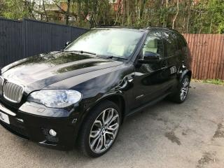 BMW X5 M SPORT 40D INDIVIDUAL LOW MILEAGE UNIQUE AND IMMACULATE FULLY LOADED