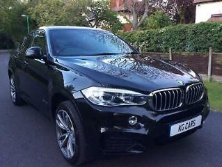 BMW X6 3.0TD Steptronic 2016 xDrive40d M Sport FSH leather BUY FROM £135 PW