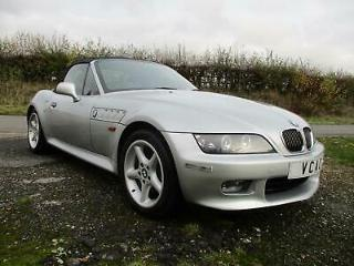 BMW Z3 2.0 auto 2001MY Roadster. Titan Silver with Full Red Leather