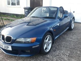 BMW Z3 2.8 MANUAL WIDE BODIED 2000 W REG FSH LOOKS AND DRIVES SUPERB