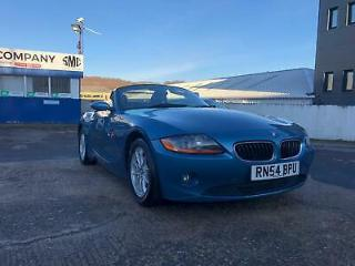 BMW Z4 2.5i ONLY 33K MILES with a FULL SERVICE HISTORY FULL HEATED LEATHER