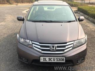 Brown 2013 Honda City 1.5 V AT Sunroof 60000 kms driven in Model Town