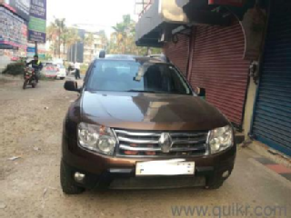 Brown 2015 Renault Duster 86000 kms driven in Kochi