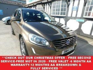 BUY NOW FOR £66 P/WEEK* 2014 VOLVO XC60 2.4 D4 SE NAV AWD 5D AUTO DSL