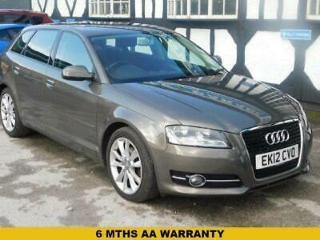 BUY NOW FOR ONLY £35 P/WEEK* 2012 12 AUDI A3 1.8 TFSI SPORT 5D 158 BHP
