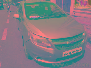 chevrolet sail 2013 only 38000 km run police man car