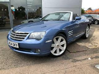 CHRYSLER CROSSFIRE 3.2 V6 Auto Roadster 2004 Petrol SemiAutomatic in Blue