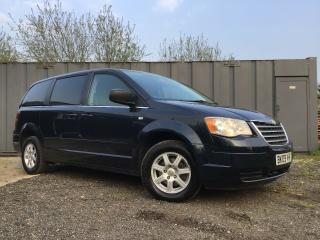 Chrysler Grand Voyager 2.8 CRD LX 5dr 2009 7 Seats, Cheap Family Car, Long MOT!