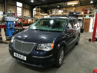CHRYSLER GRAND VOYAGER CRD Limited. Blue 2010 Spares or Repairs