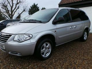 SORRY SOLD* CHRYSLER GRAND VOYAGER EXECUTIVE 2.8 CRD 7 SEATER MPV 2007 90K