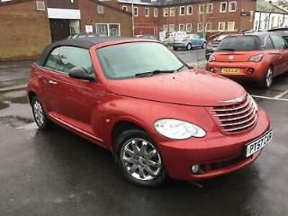 Chrysler PT Cruiser 2.4 Limited Convertible~Easily the Best Xmas Gift Ever £1995