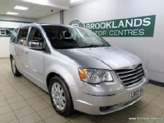 Chrysler Voyager 2.8 CRD GRAND LIMITED Auto [5X SERVICES, SAT NAV, LEATHER, REAR