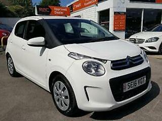 CITROEN C1 PureTech 82 Feel White Manual Petrol, 2016