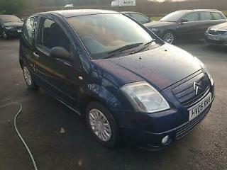 Citroen C2 1.4i 2004MY SX only 57000 miles from new