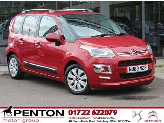 Citroen C3 Picasso 1.6 HDi 8v Exclusive 5dr £30TAX TOP SPEC LOW MILES 2014, 35000 miles, £5690