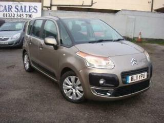 Citroen C3 Picasso 1.6HDi Diesel 5 door hatch connexion manual gold cheap tax