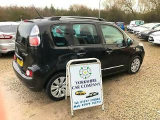 Citroen C3 Picasso 1.6HDi 8v 90bhp EXCLUSIVE DIESEL £30 A YEAR ROAD TAX