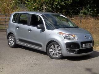 Citroen C3 Picasso 1.6HDi 92bhp VTR+, Finished in Arctic steel
