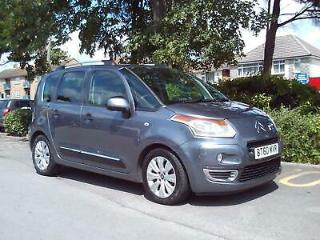 CITROEN C3 PICASSO 1.6HDi EXCLUSIVE 2011 COMPLETE WITH M.O.T HPI CLEAR