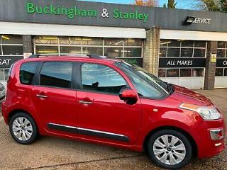 Citroen C3 Picasso with low mileage metallic Red