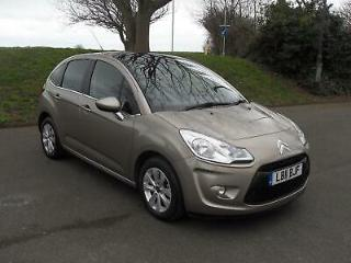 Citroen C3 VTR+ 1.4 cc Petrol, Manual LOW MILEAGE SERVICE HISTORY Beige 5 Door