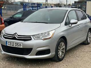 Citroen C4 1.6HDi 16v 90bhp VTR Excellent Runner Bargain 5dr £20 Road Tax