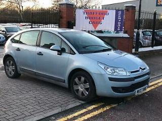 Citroen C4 1.6i 16v auto SX 2007 5 door runs & drives perfectly open 7 days