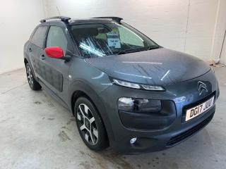 Citroen C4 Cactus 1.2 PureTech Flair Edition Hatchback 5dr Petrol s/s 110 ps Stylish and fun to drive! 2017, 18500 miles, £9895