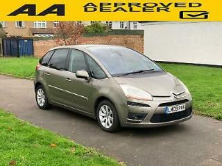 Citroen C4 Picasso 1.6i 16v THP 150bhp EGS Exclusive, New Clutch, F&R Aid