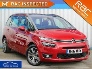 Citroen C4 Picasso 2.0 Grand Bluehdi Exclusive Eat6 2015 15 • from £59.12 pw