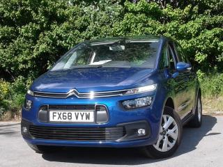 Citroen C4 SPACETOURER 1.5 BLUEHDI 130PS TOUCH EDITION 5DR MPV MULTI PURPOSE VEHICLE, 4080 miles, £13495