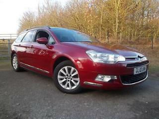 Citroen C5 1.6HDi VTR+ SAT NAV & BLUETOOTH, Finished in Wicked red