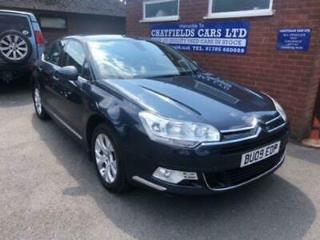 CITROEN C5 2.0 EXCLUSIVE HDI 140 BHP DIESEL, 75K MILES, PREVIOUSLY SUPPLIED