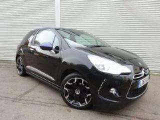 CITROEN DS3 1.6 DSTYLE PLUS 3D GOOD AND BAD CREDIT CAR FINANCE AVAILABLE