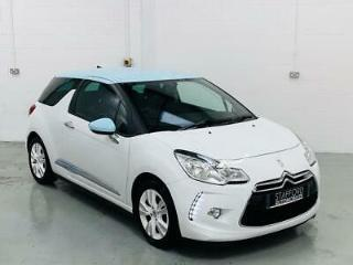 Citroen DS3 1.6 E HDI Dstyle Manual Diesel White Hatch 2010