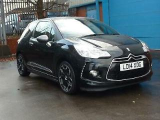 CITROEN DS3 e HDi 90 8v Airdream DStyle Plus 2014 Diesel Manual in Black