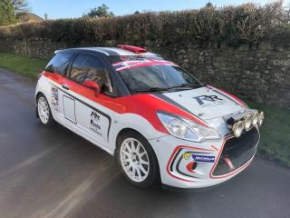 Citroen Ds3 R3 Factory Rally Car