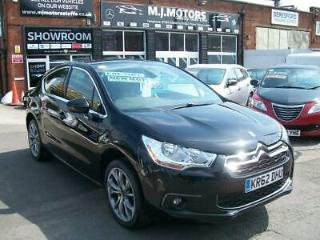 Citroen DS4 1.6HDi 110bhp DStyle. FULL SERVICE HISTORY 7 SERVICE STAMPS