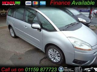 CITROEN GRAND C4 PICASSO 1.6i THP AUTOMATIC EGS VTR+ NIL DEPOSIT FINANCE ASK